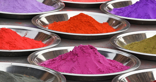 Pigments for factory mixed colors